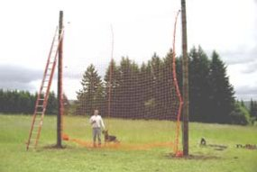 30 foot net for hops